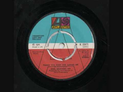 Soul Brothers Six - Thank You Baby For Loving Me.wmv
