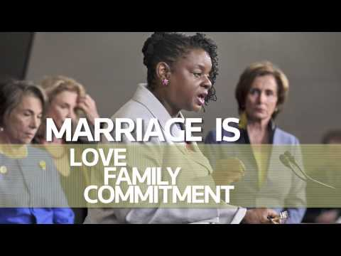 Rep. Gwen Moore for HRC's Americans for Marriage Equality