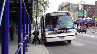 MTA NYC Bus: 1996 Nova-RTS B57 Bus #8953 at Bushwick Ave