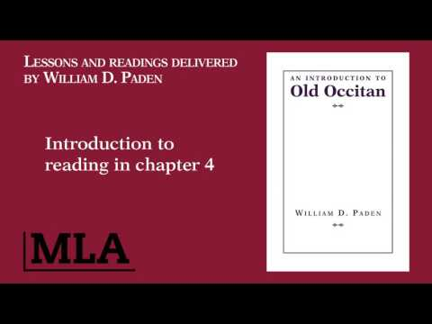 Introduction to reading in chapter 4