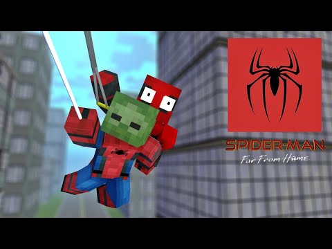 Monster School : Spiderman Far From Home - Minecraft Animation