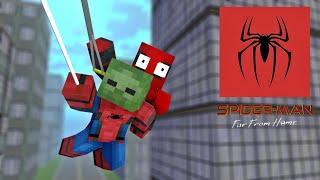 Monster School : Spiderman far from home - Minecraft Animation