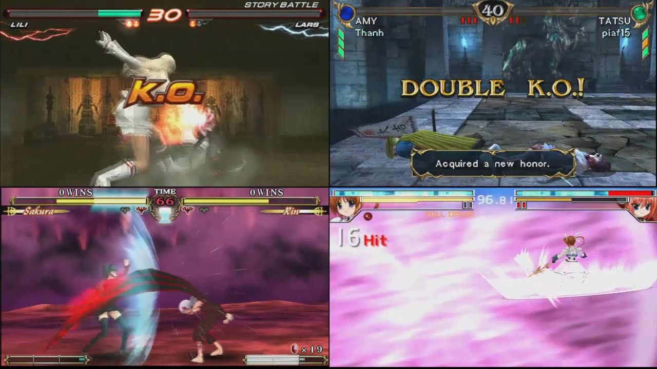 PSP Fighting Games Play On PC With PPSSPP