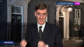 Newly appointed Commons Leader Jacob Rees-Mogg on ITV's Peston