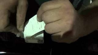 Как переклеить заводские  наклейки на Авто (под капотом)