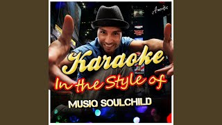 Half Crazy (In the Style of Musiq Soulchild) (Karaoke Version)