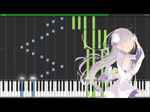 """[Re:Zero Kara Hajimeru Isekai Seikatsu ED 2] """"Stay Alive"""" - Rie Takahashi (Synthesia Piano Tutorial)"""