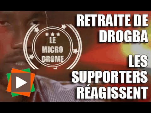 Retraite internationale de Didier Drogba : Les supporters réagissent...