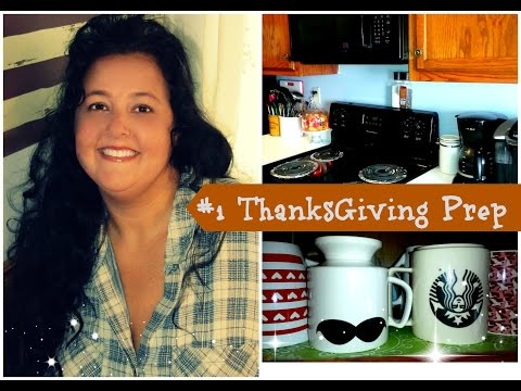 #1 Thanksgiving Prep Series 2016 Cleaning Out The Kitchen