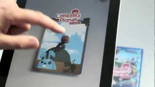 Little Big Planet - AR Videogame cover! Zappar - Augmented Reality based Entertainment!