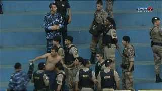 Confusão entre Corinthians e Orlândia - Vídeo completo