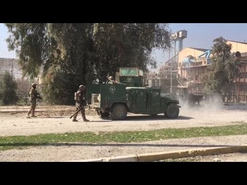 Iraq forces enter IS-held Mosul airport