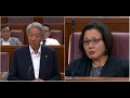 Sylvia Lim VS Teo Chee Hean On Presidential Elections Act 2017 mp3