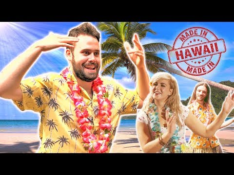 Irish People Try Hula Dancing