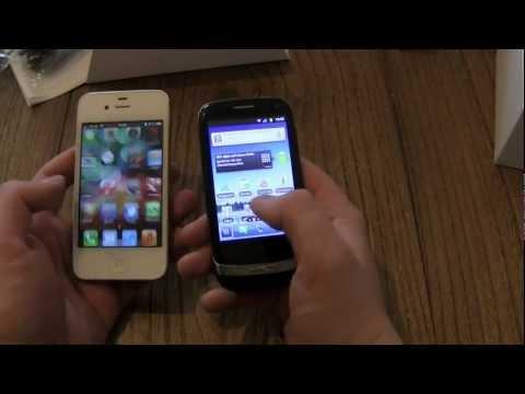 Huawei Ideos X3 vs Apple iPhone