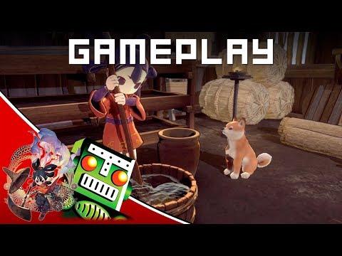 Sakuna: Of Rice and Ruin - PS4 Gameplay   E3 2019