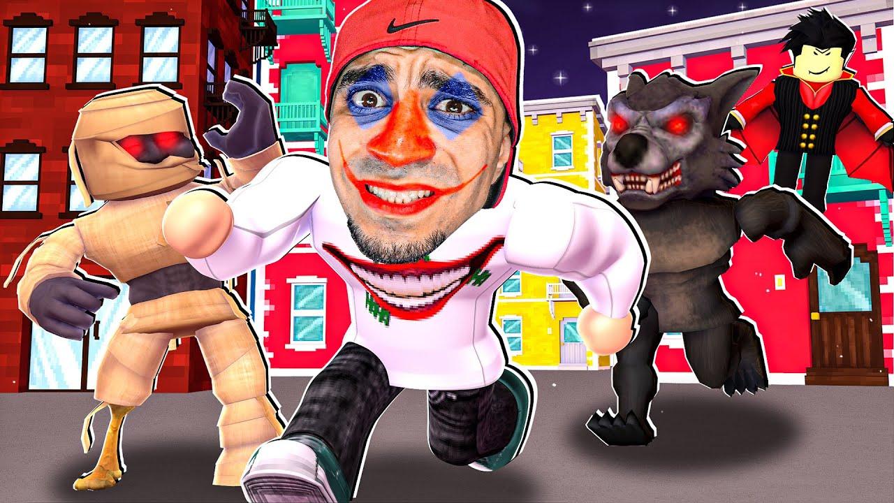 الهروب من الشارع المرعب في لعبة روبلوكس | ROBLOX