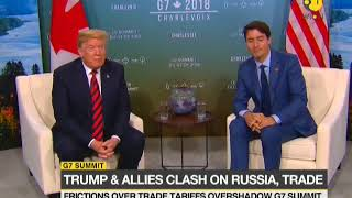 G7 Summit: Donald Trump calls for re-admission of Russia