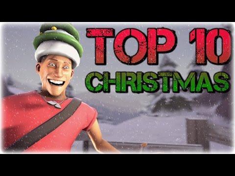 TF2: Top 10 Christmas Hats! (IMO)