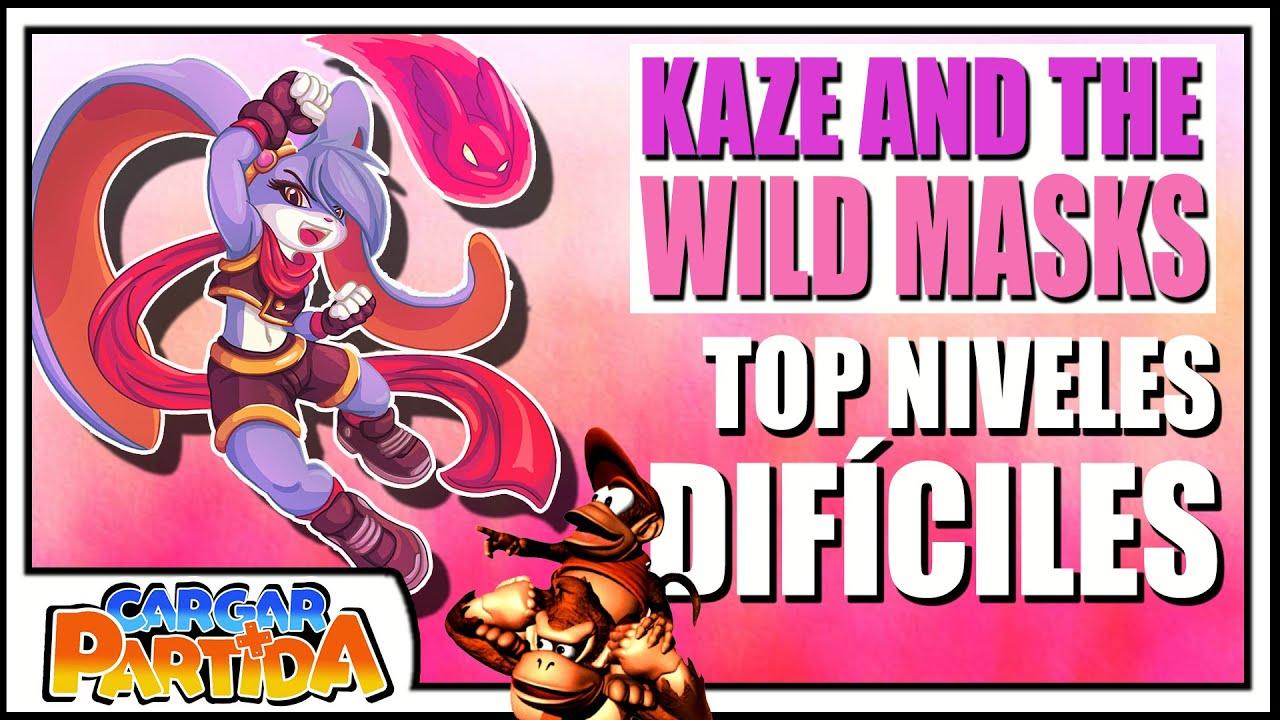 Top 7 Niveles Difíciles En Kaze And The Wild Másks (Sucesora Donkey Kong Country) || CARGAR PARTIDA