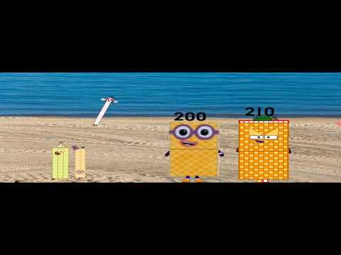 Numberblocks Animation: Two Hundred Ten And On