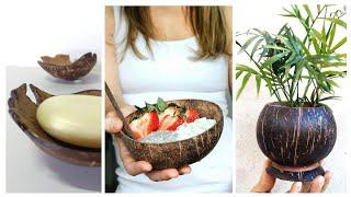 5 Coisas Bacanas que Você Pode Fazer com Casca de Coco