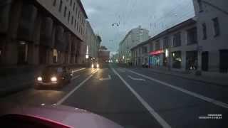 Видеорегистратор TrendVision TV-703 (вечер, задняя камера) - http://ncel.ru/