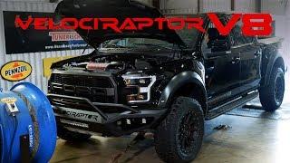 2019 VelociRaptor V8 4-Door Chassis Dyno Testing