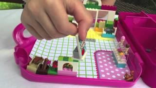 Quick Tour of LEGO JUNIORS Fire Suitcase and Supermarket Suitcase