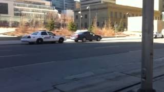 ctv calgary video of barricade at 4th st and 6th ave sw