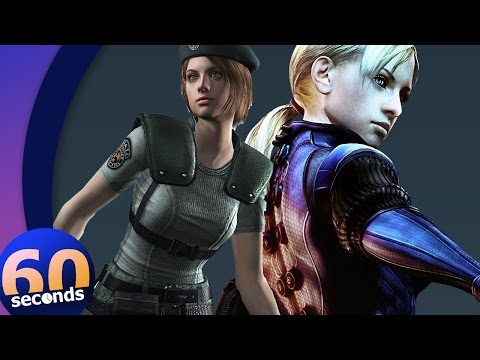 The story of Resident Evil's Jill Valentine in 60 seconds