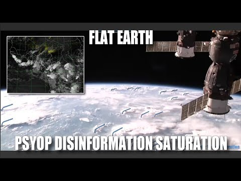 Flat Earth: Psyop Disinformation Saturation