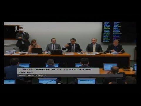 PL 7180/14 - ESCOLA SEM PARTIDO - Reunião Deliberativa - 11/07/2018 - 16:53