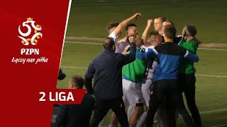 2. Liga: Bramki z 27. kolejki (2018/19)