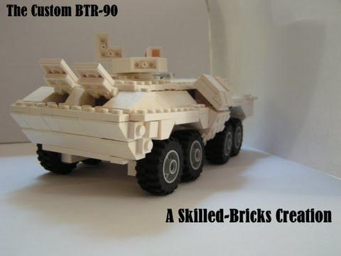 Lego MOC: Custom BTR-90