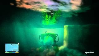 Grand Theft Auto 5 GTA5 Minisub(offshore) -Mission Gold Achievement Walkthrough