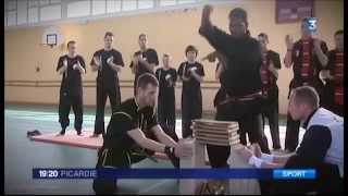 France 3 Picardie - Mansuria Kung Fu - Stage Grand Maître avril 2013 thumbnail