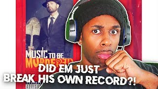 THE RAP GOD RECORD IS OFFICIALLY BROKEN! Eminem - Godzilla (ft. Juice WRLD) REACTION