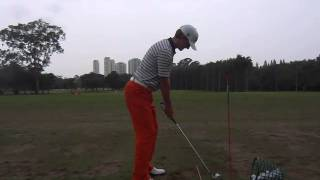 Blayne Barber Golf Swing Slow Motion