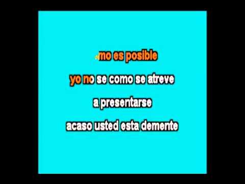 Conjunto Rio Grande Demente Karaoke
