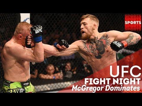 McGregor vs. Siver UFC Fight Night 59 | McGregor Earns Title Shot