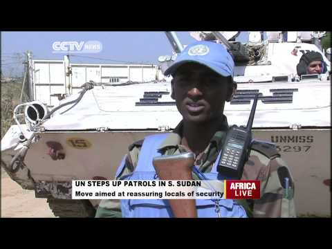 UN Steps Patrols in S.Sudan to Ensure Security