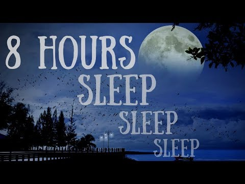 8 hour GUIDED SLEEP HYPNOSIS TO FALL FAST ASLEEP with Delta Wave Brain Entrainment
