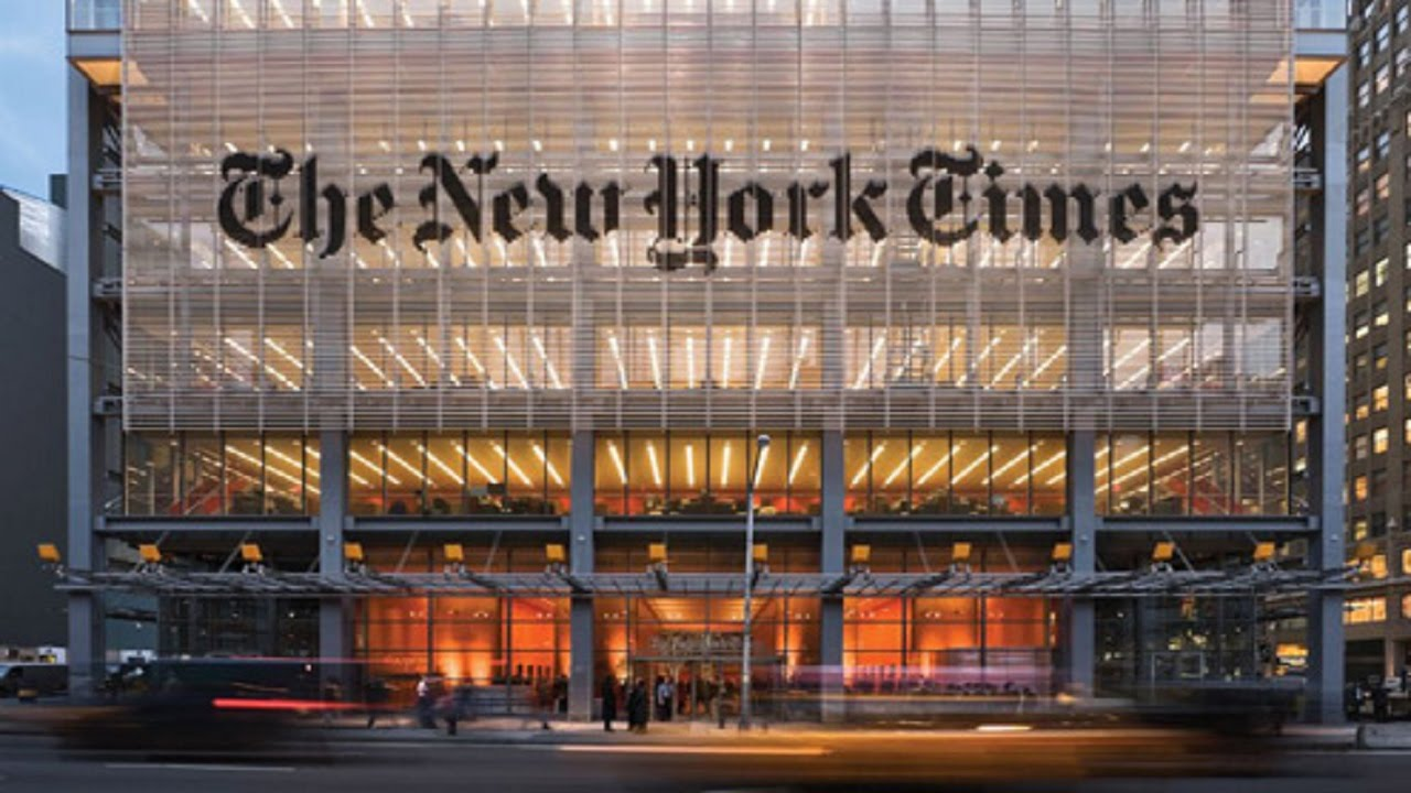 New York Times Executive Editor Apologizes For Decade Of Poor Journalism