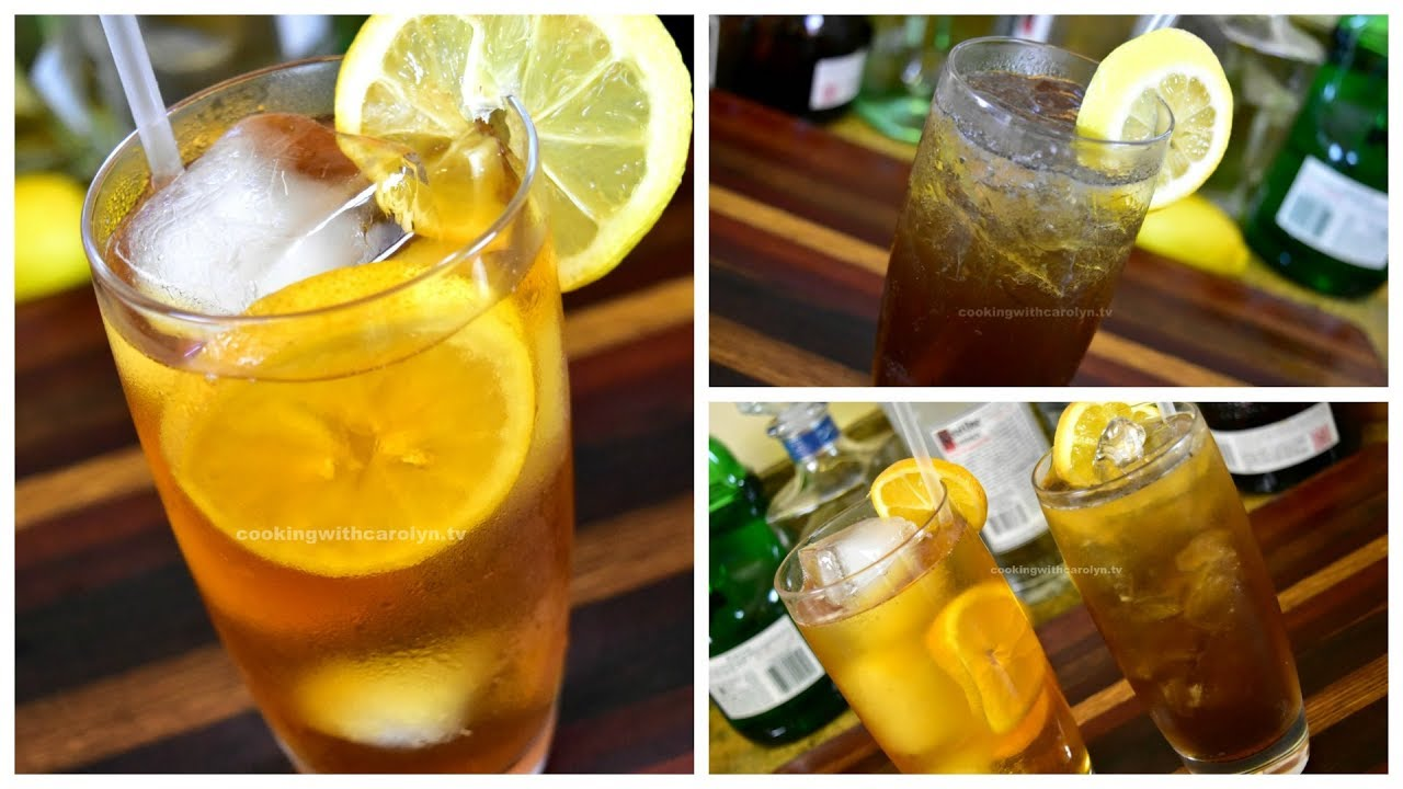 SWEET TEA RECIPE |LONG ISLAND ICED TEA RECIPE | BEAT THE HEAT!!