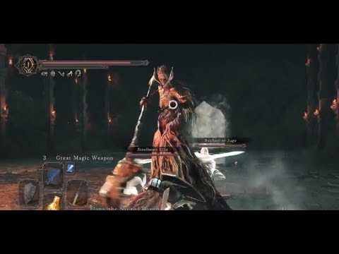 黑暗靈魂2 : 原罪哲人#48 DLC(1)『深淵王之王冠』汙穢女王艾蓮娜(上)