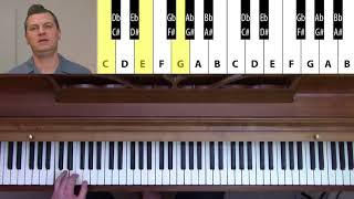 Rock'n'Roll Piano For Beginners - Lesson 1