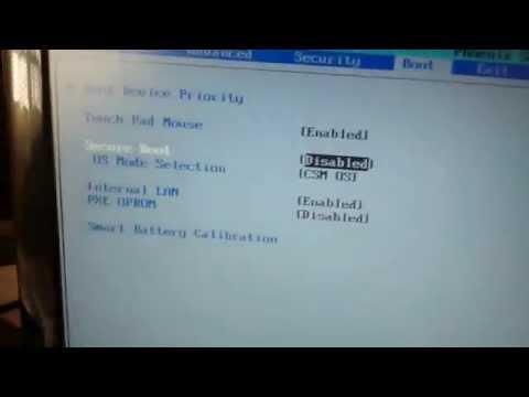 Boot pelo Pendriver em Notebook Samsung