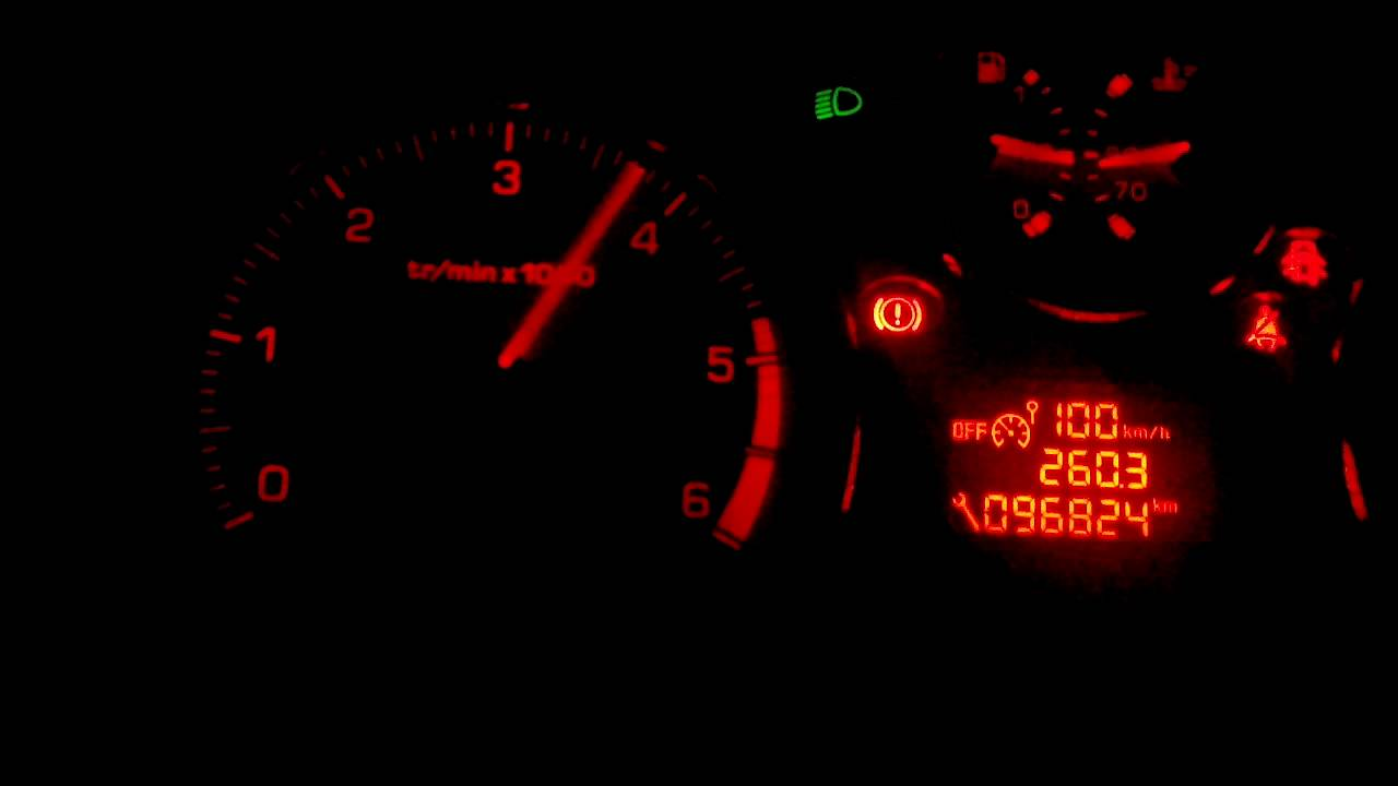 Hacking rpm by CAN-BUS with Arduino on Peugeot 207