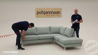 Kuinka sohva puhdistetaan ja suojataan - Pohjanmaan Kaluste, tehdassuojaus - Textile Master